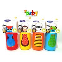 BABY SAFE BOTTLE SILICONE SPOUT - Botol Sedotan Anak (300ml) - Kuning