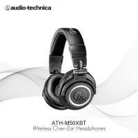AUDIO TECHNICA ATH-M50XBT MONITORING BLUETOOTH HEADPHONE (ORI /RESMI)