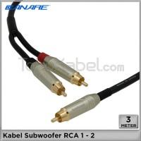 Kabel Subwoofer RCA 1-2 Canare Amphenol [3m]