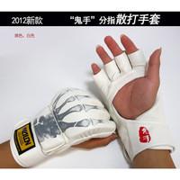 WOLON Gloves MMA Muay Thai Kick Boxing Body Combat Sarung Tinju putih