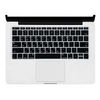 Keyboard Protector Label Korea Macbook Retina A1708 Layout US - Black