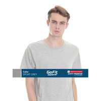 GoFit Cotton Combed 30s Sport Grey