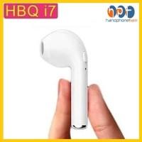 Handsfree IPHONE 7 Earphone Wireless Bluetooth Single Stereo HBQ i7