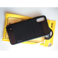 Case Ipaky Carbon Fiber SAMSUNG M10 Softcase Shockproof TPU