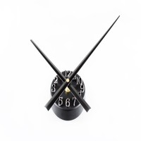 New 3D Digital Go Backwards Pointer Wall Clock Time-scale Point