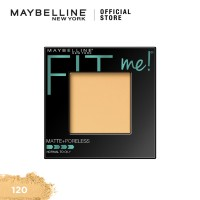 Maybelline Fit Me Powder Matte Poreless Make Up - Classic Ivory