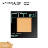 Maybelline Fit Me Powder Matte Poreless Make Up - Natural Beige