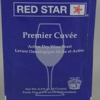 RED STAR Premier Cuvee Wine yeast 5g