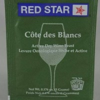 RED STAR Cote de Blanc Wine yeast 5g