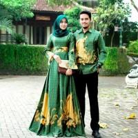 couple gamis batik