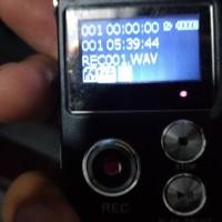 Usb Digital Voice Recorder 8Gb Plus Mp3 / Handy Perekam Suara