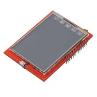 2.4 Tft Lcd Shield Touch Panel Module Tf Reader Micro Sd Untuk Arduino