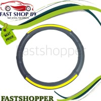 COVER STIR MOBIL SARUNG KULIT STIR S 36CM BLACK YELLOW MORRIS MR772