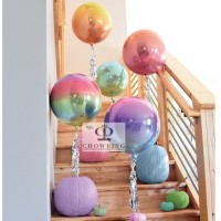 Balon ORBZ Foil 4D Helium Quality - 18 inch