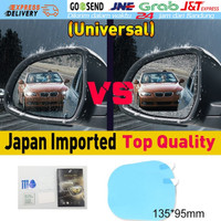 2Pcs/Set Mobil Anti Kabut Air Film Anti Fog Tahan Hujan Kaca Spion