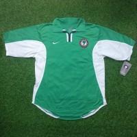 Original Jersey Nigeria 2000 Home Baju Bola Asli