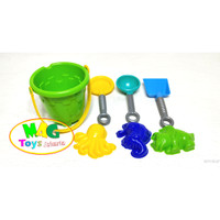 Mainan Ember Pantai Kecil Mainan Cetakan Pasir
