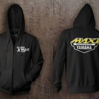 Jaket Hoodie Sweater Zipper YAMAHA XMAX CLUB