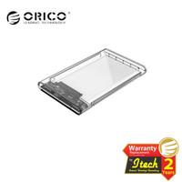 "Orico 2139U3 Case External Hardisk 2.5"" Sata Enclosure Transparent"