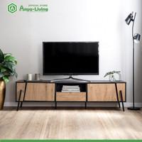 Anya-Living Meja TV Borka TV Stand - Beufort Oak