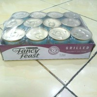 Fancy Feast 85gr 1 tray isi 24pcs - Makanan Kucing