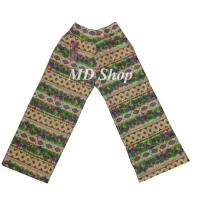 MD SHOP Celana Kulot Anak Motif Size M