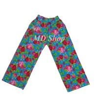 MD SHOP Celana Kulot Anak Motif Size S