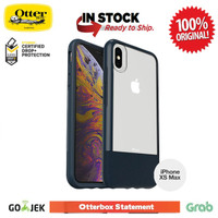 iPhone XS MAX Case Otterbox Statement Series - Jade (leather) Clear