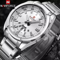 Jam Tangan Pria NAVIFORCE Brand Men Watches Luxury Sport Quartz 30M