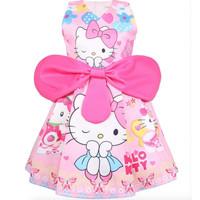 Dress - Dress Fashion Anak Hello Kitty 9003