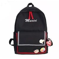 tas maxixi backpack tas ransel sekolah tanpa aksesoris
