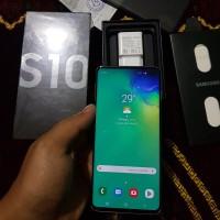 Samsung Galaxy S10 White 128GB Fullset Garansi Resmi Sein Indonesia