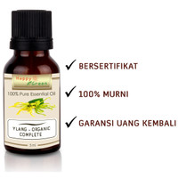 Happy Green ORGANIC Ylang Ylang Essential Oil (5ml) - Ylang Complete