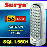 Surya Lampu Emergency SQL L5601 Light LED Rechargeable 12 Hours