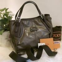 TOD'S GLINE SACCA Mini Branded Authentic Bag