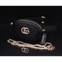 Tas Wanita Tas Batam Import Gucci Belt Nagita Mini Canvas IB