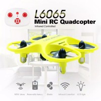 L6065 Mini RC Quadcopter Infrared Controlled Drone 2.4GHz Aircraft