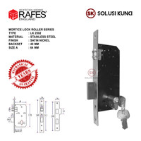 Bodi Kunci Pintu Pelor 40mm RAFES ENGLAND Stainless Steel Garansi 2 th