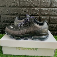 Sepatu Nike Air Vapormax Run Utility Grey Purple - Premium Import