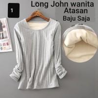 Long john Wanita / Pakaian Musim Dingin / Atasan saja