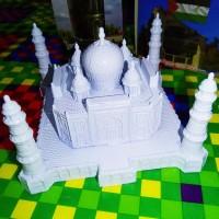 Miniatur Menara Masjid Taj Mahal Lebar 18 Cm