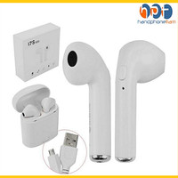 Headset/Earphone bluetooth i7S TWS 4.2 AIRPODS WITH CHARGING CASE