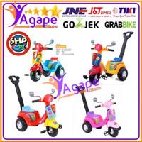Mainan Anak Scooter Dorong Sepeda Roda Tiga SHP-609