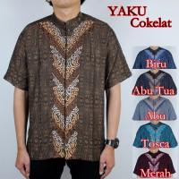 Baju Koko Yaku Cokelat 6 Pilihan Warna