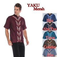 Baju Koko Yaku Merah 6 Pilihan Warna