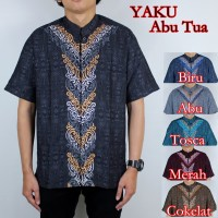 Baju Koko Yaku Abu Tua 6 Pilihan Warna