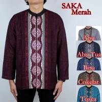 Baju Koko Saka Merah 6 Pilihan Warna