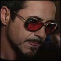 promo gila Kacamata Steampunk Iron Man
