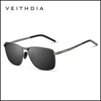 ready Veithdia Kacamata Vintage UV Polarized Sunglasses - 2462