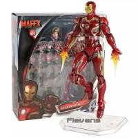 Mafex iron man Mark 45 action figure